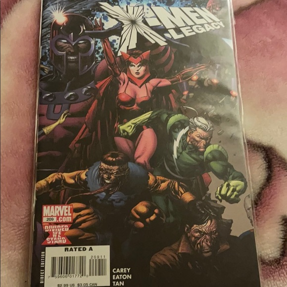 X-men Legacy divided we stand #209